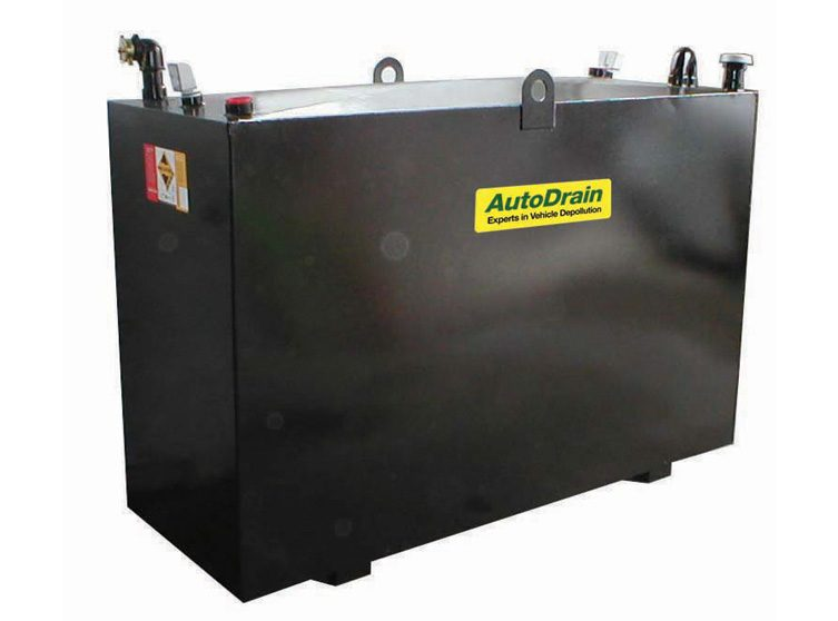 Image of AutoDrain Fluid Storage | Waste Oils, Coolants, Screenwash, Brake Fluid and Diesel